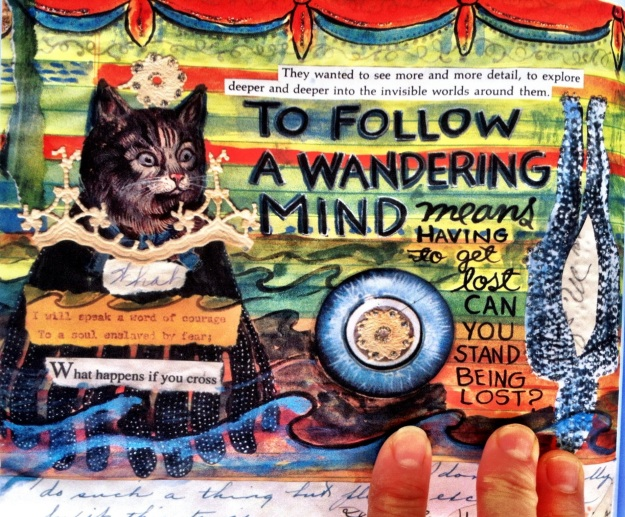 Page quote from Lynda Barry, What It Is