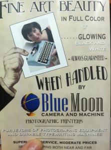 Blue Moon Camera Flyer by Jennifer Hartnett-Henderson ©2013