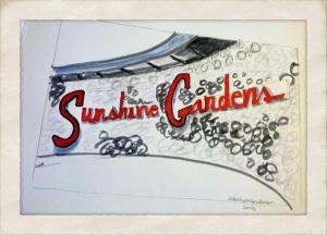 Sunshine Gardens, edited in Perfectly Clear and Camera+ by Jennifer Hartnett-Henderson ©2013
