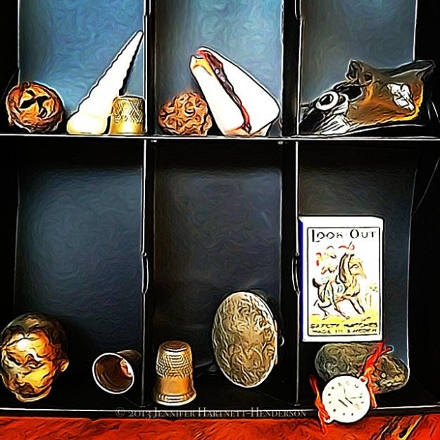 Cabinet of Curiosities by Jennifer Hartnett-Henderson ©2013 HDR3, ToonCamera, Snapseed