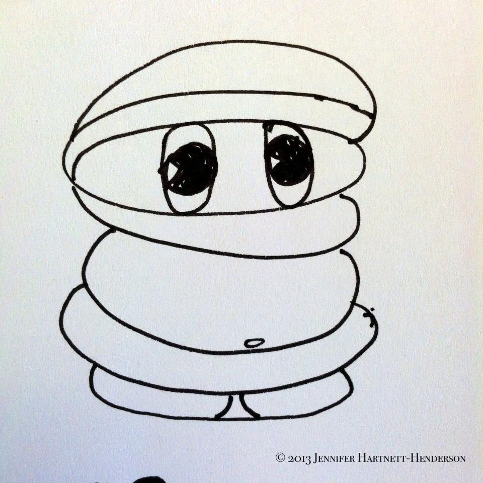 Michelin-Like Man by Jennifer Hartnett-Henderson ©2013