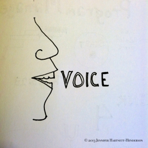 VOICE by Jennifer Hartnett-Henderson ©2013