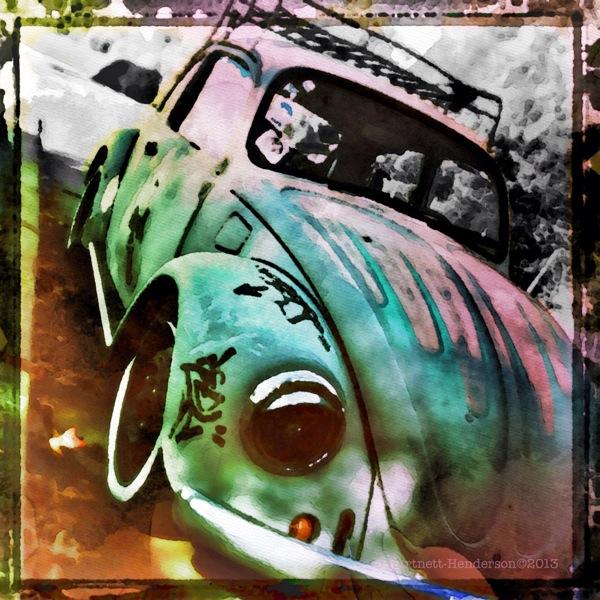 VW Power by Jennifer Hartnett-Henderson ©2013 shot with Hipstamatic, Cano Caphenol film and Loftus lens