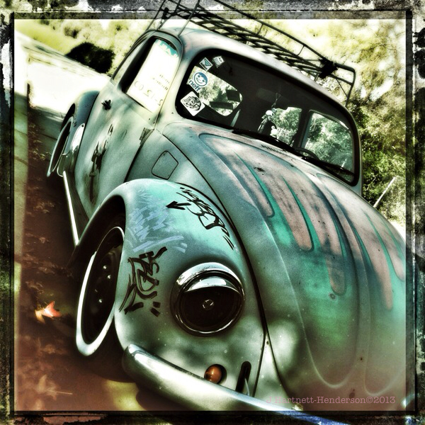 VW Power by Jennifer Hartnett-Henderson ©2013 shot with Hipstamatic, Cano Caphenol film and Loftus lens