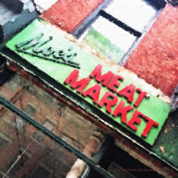Moe's Meat Market by Jennifer Hartnett-Henderson ©2013