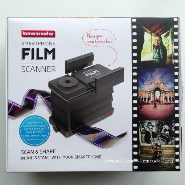 Lomography Film Scanner by Jennifer Hartnett-Henderson © 2013