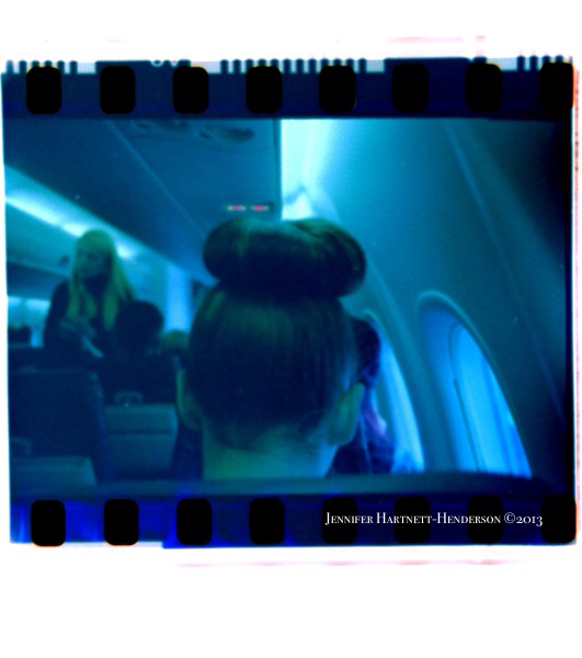 The Hair Bun - first scan from my Lomography Film Scanner using my iPhone