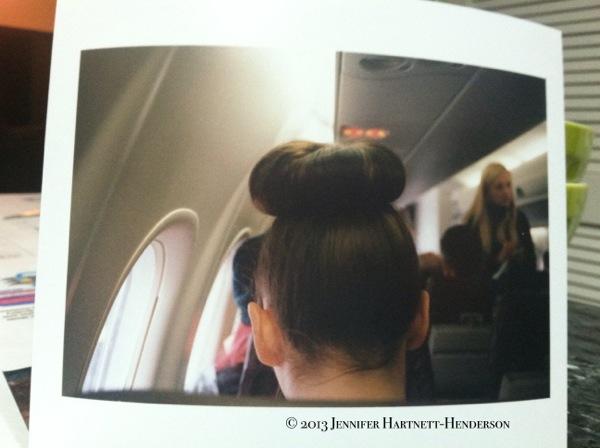 The Hair Bun - Print by Blue Moon Camera, Photo by Jennifer Hartnett-Henderson © 2013