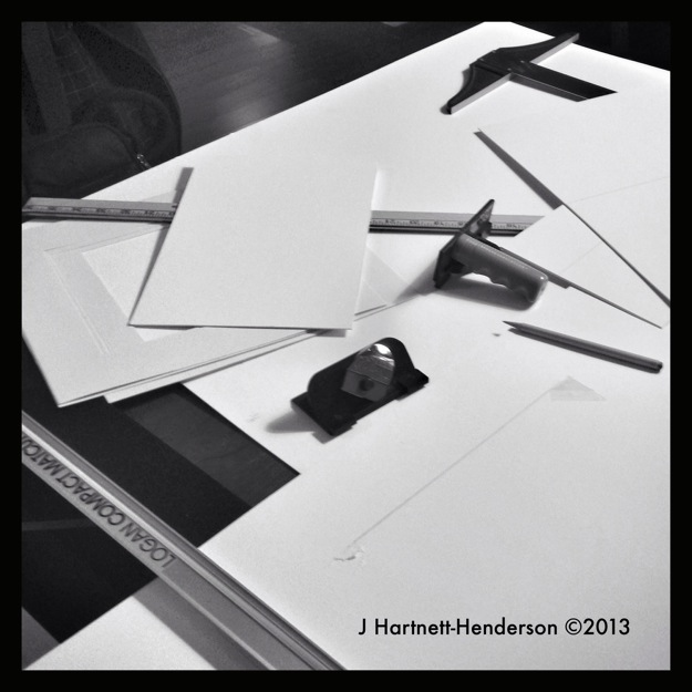 Matte Cutting Reunion by Jennifer Hartnett-Henderson ©2013
