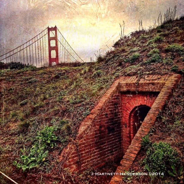 DistressedFX Edit: Golden Gate Bridge