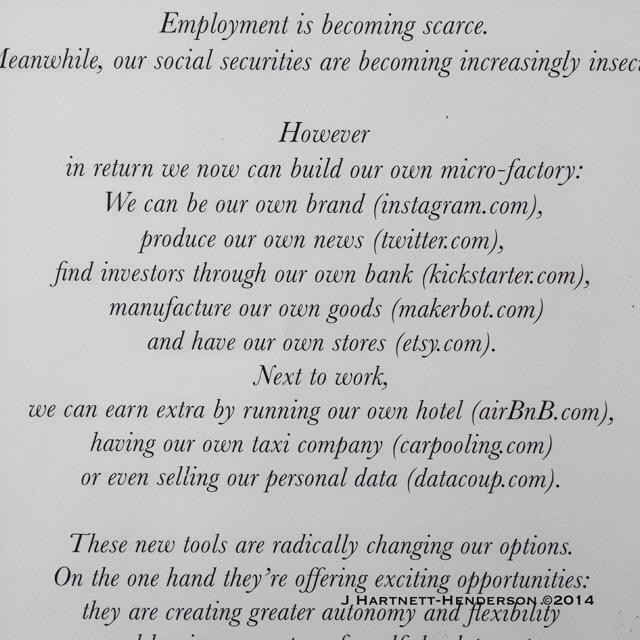 Reframing Ambition at Hôtel Droog by Jennifer Hartnett-Henderson ©2014