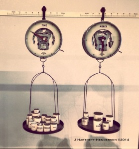 Hôtel Droog Exhibit, Thinkering Scales by Jennifer Hartnett-Henderson ©2014