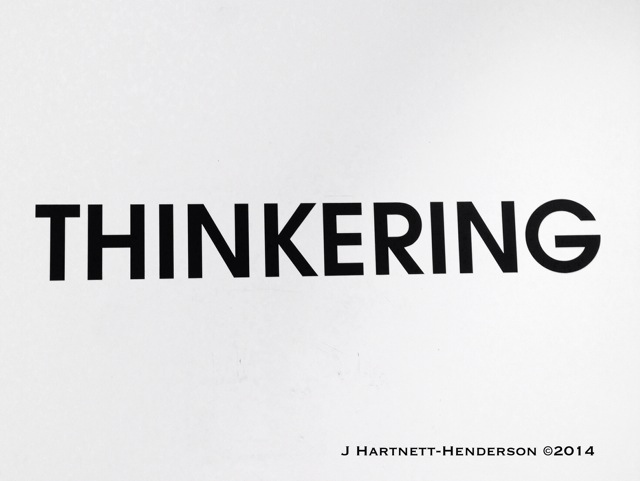 Thinkering at Hôtel Droog by Jennifer Hartnett-Henderson ©2014
