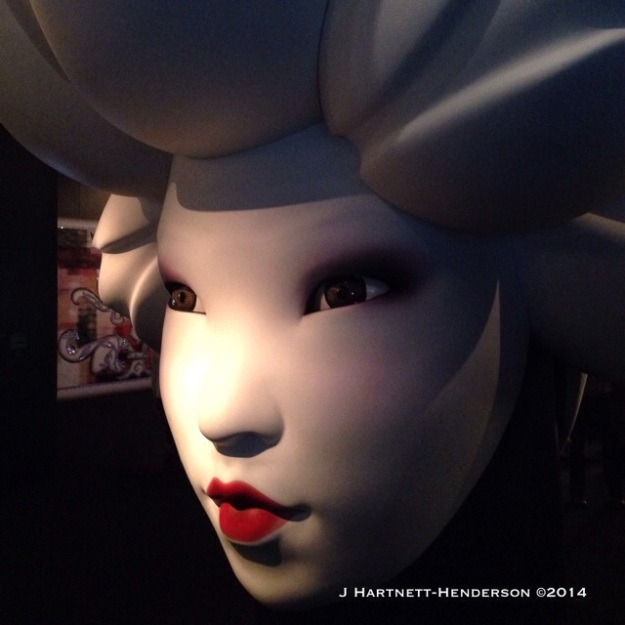 Asian Face, Marcel Wanders by Jennifer Hartnett-Henderson ©2014