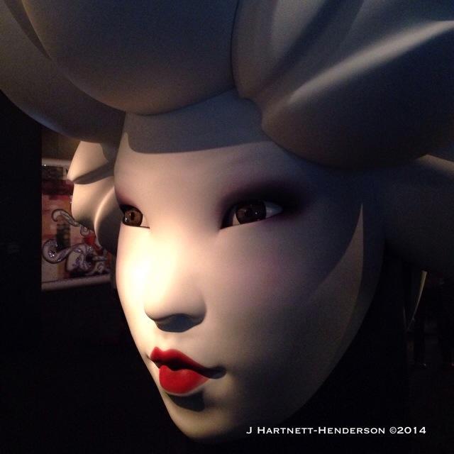 Asian Face, Marcel Wanders by Jennifer Hartnett-Henderson ©2014