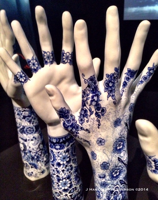 Marcel Wanders Hands Surface Detail by Jennifer Hartnett-Henderson ©2014