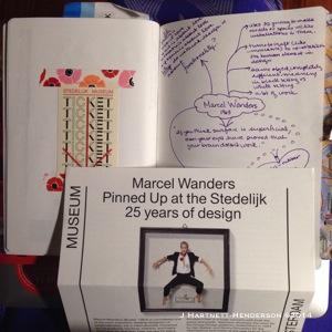 Marcel Wanders, Pinned Up Exhibition at the Stedelijk by Jennifer Hartnett-Henderson ©2014