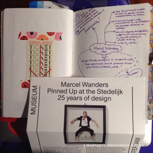 Marcel Wanders, Pinned Up Exhibition at the Stedelijk by Jennifer Hartnett-Henderson ©2014