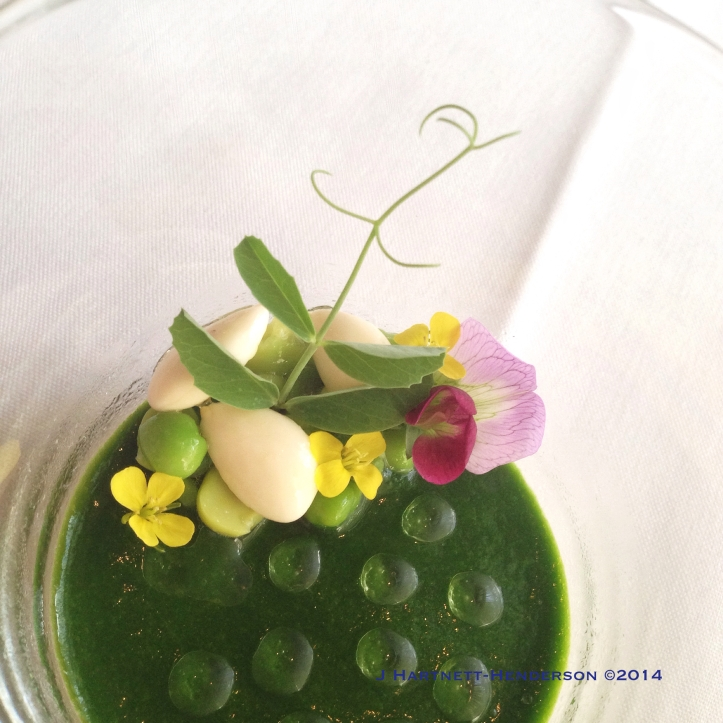 Dinner at Castagna, Amuse Bouche #4, by Jennifer Hartnett-Henderson ©2014