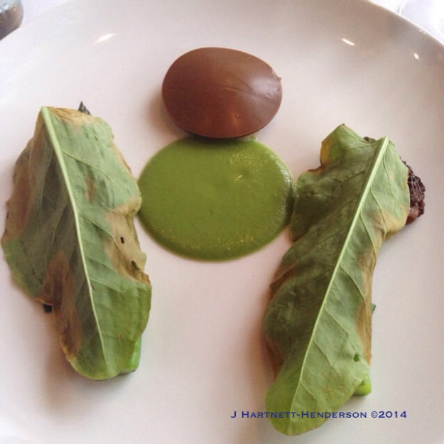 Appetizer, Dinner at Castagna by Jennifer Hartnett-Henderson ©2014