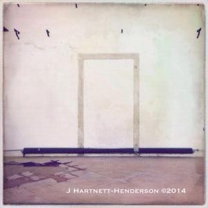 Walled Doorway by Jennifer Hartnett-Henderson ©2014