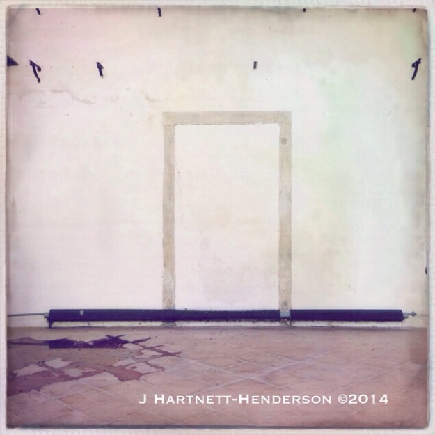 Walled Doorway by Jennifer Hartnett-Henderson ©2014