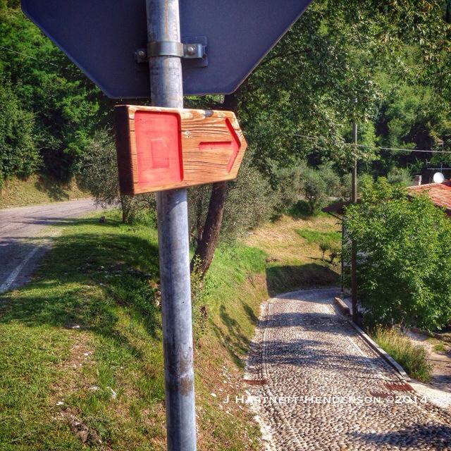 Trail Sign by Jennifer Hartnett-Henderson ©2014