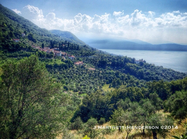 View of Lake Garda by Jennifer Hartnett-Henderson ©2014