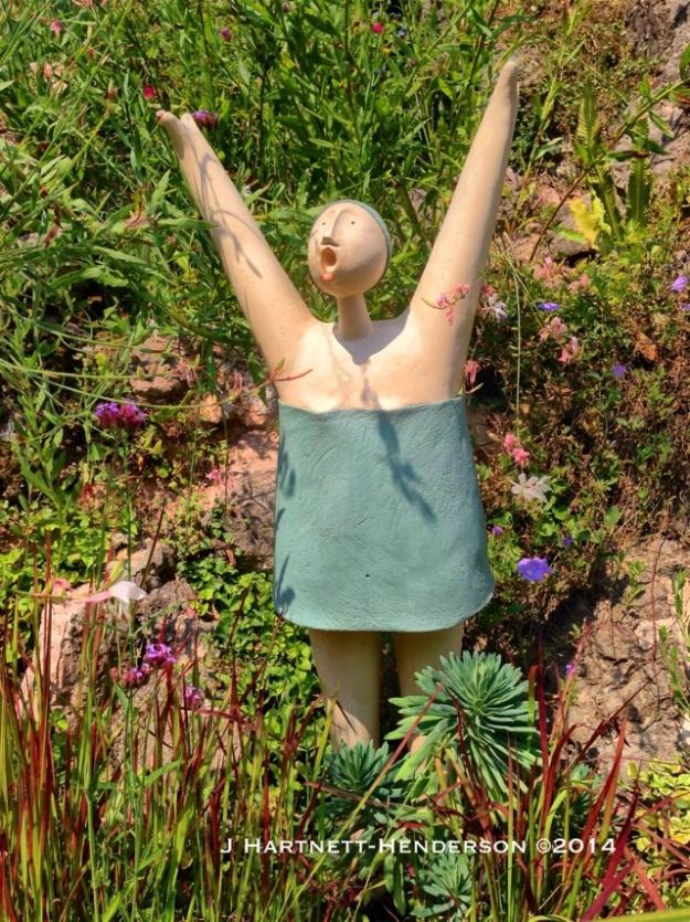 Mariano Fuga in Heller Garden by Jennifer Hartnett-Henderson ©2014
