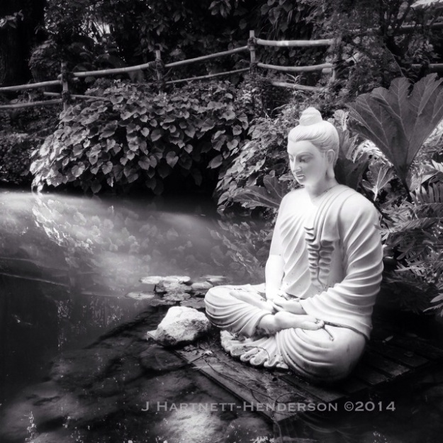 Buddha at Heller Garden by Jennifer Hartnett-Henderson ©2014