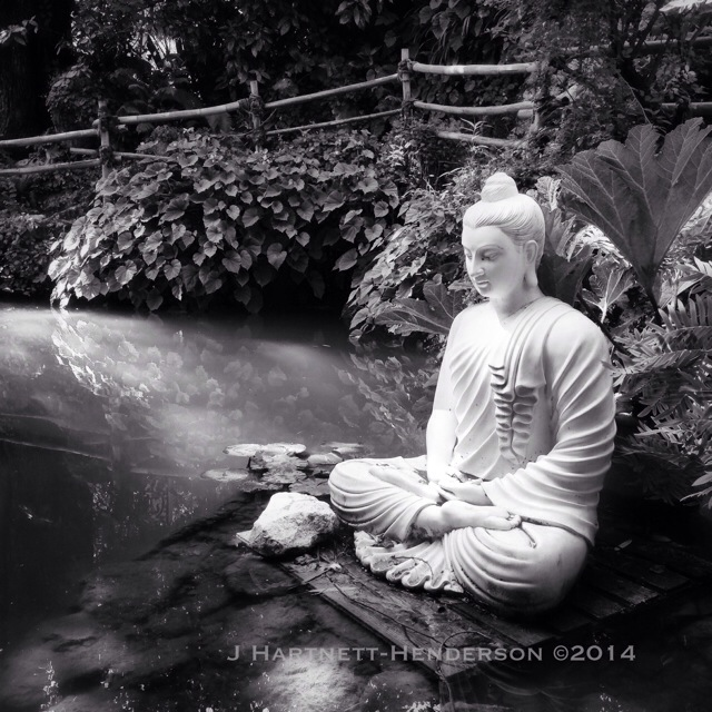 Buddha at Heller Garden by Jennifer Hartnett-Henderson ©2014