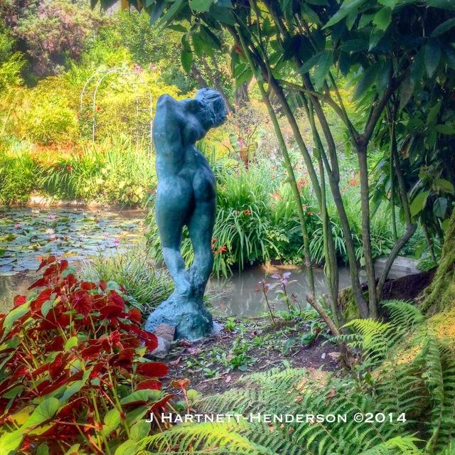 Sculpture by Auguste Rodin in Heller Garden by Jennifer Hartnett-Henderson ©2014