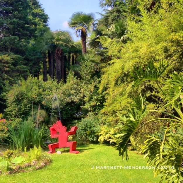 Keith Haring in Heller Garden by Jennifer Hartnett-Henderson ©2014