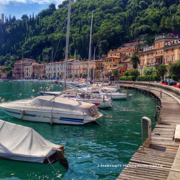 Lake Garda Bay by Jennifer Hartnett-Henderson ©2014