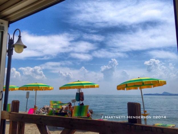 Beach Umbrellas by Jennifer Hartnett-Henderson ©2014