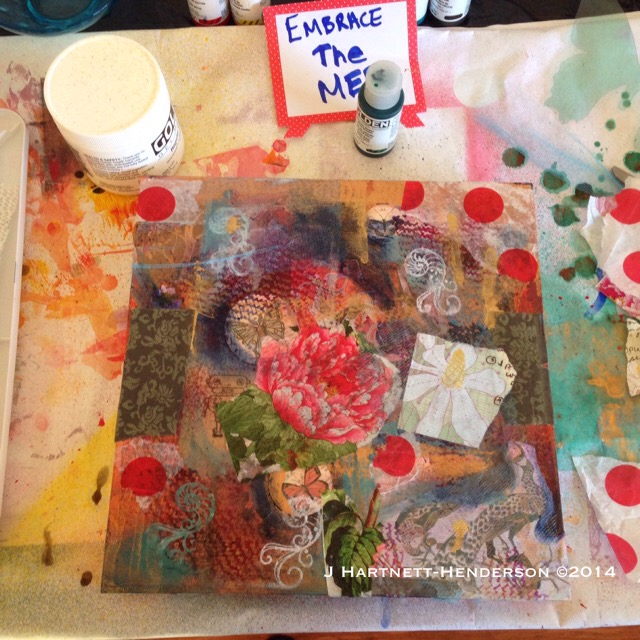 Step Two in Embrace the Mess by Jennifer Hartnett-Henderson ©2014