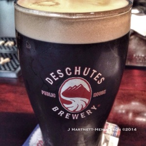 Deschutes Obsidian Stout Nitro by Jennifer Hartnett-Henderson ©2014